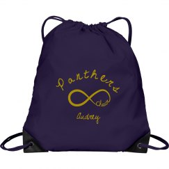 Panther Drawstring Bag