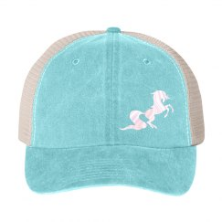 Unicorn snap back - aqua
