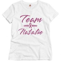 Custom Name Breast Cancer Team