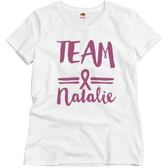 Custom Name Breast Cancer Team