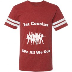 1st cousins Jersey shirt red