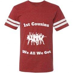 1st cousins Jersey shirt red