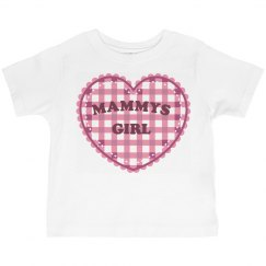 Mammys Girl Toddler Tee