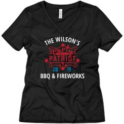 Custom BBQ And Fireworks Party