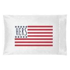 Her American Flag (Pillowcase)