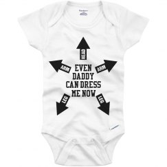 How To Dress A Baby Onesie