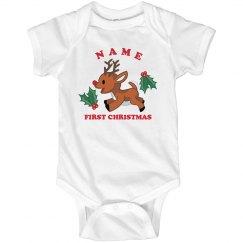Reindeer First Xmas