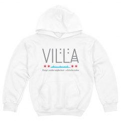 Kids Villa Chicago Skyline Logo Hoodie