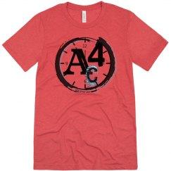 A4c unisex t-shirt Red