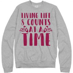 Dance Sweatshirt In 8 Counts