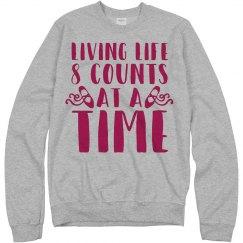 Dance Sweatshirt In 8 Counts