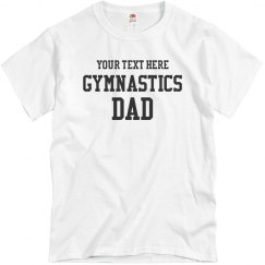 Custom Gymnastics Dad Shirts