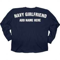 Custom Navy Girlfriend Billboard