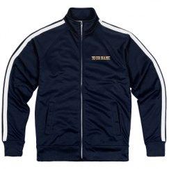 Unisex Poly-Tech Full-Zip Track Jacket