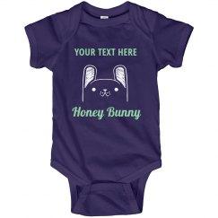 Custom Name Honey Bunny