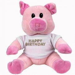 Happy Birthday Piggy