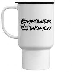 Empower Women Travel Mug