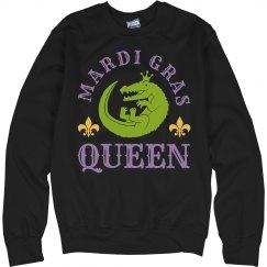 The Mardi Gras Gator Queen