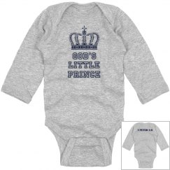God's Little Prince Onesie