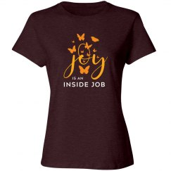 Joy is an Inside Job Butterfly Relaxed Fit Tee