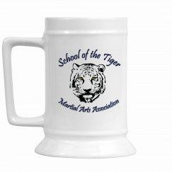 16oz Ceramic Mug with Logo