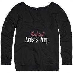 Ladies Fleece Wide-Neck Sweatshirt