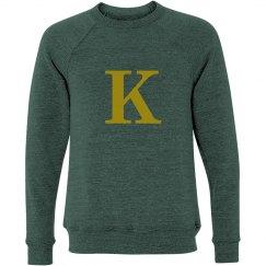 K Initial Sweater