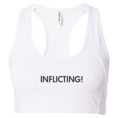 Inflicting! Sports Bra