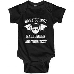 Batty First Halloween