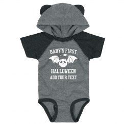 Hooded Custom Baby's First Halloween