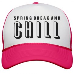 Spring Break and Chill Caps