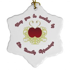 Be Touched ornament - 6pt star