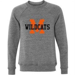 M Wildcats Crewneck