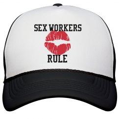 Sex Workers Rule Trucker Hat