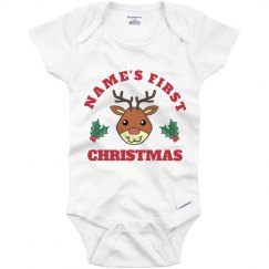 Baby's First Christmas Reindeer