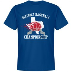 Custom Baseball Tournament Tee