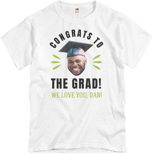 ac08c79309 Funny Graduation Group Family Shirt Unisex Basic Promo T-Shirt