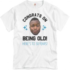 Custom Birthday Shirt With Photo