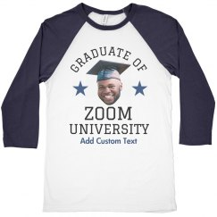 Custom Photo Zoom Graduate
