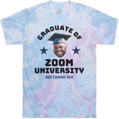 Grad Upload Custom Zoom Tee