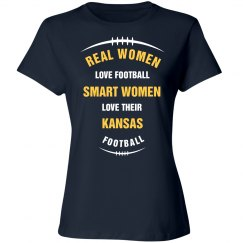 Smart women love Kansas Football