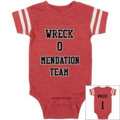 wreck o mendation team babies Jersey onsie