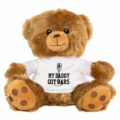 Daddy got bars teddy bear