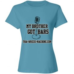 Bro Got bars  Ladies tee