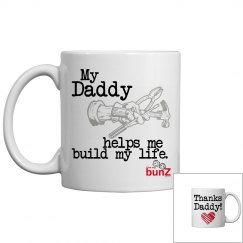 Daddy build life Mug