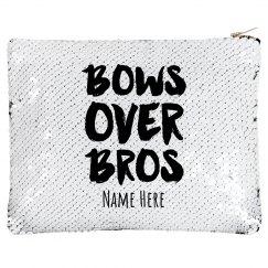 Bows Before Bros Zip Bag
