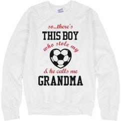 Grandma Loves Soccer