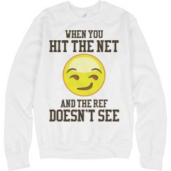 When You Hit The Volleyball Net Funny Volleyball Shirt