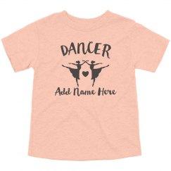 Little Dancer Custom Name