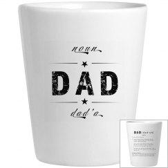 Dad'a Shot Glass 2 Alternative Dictionary